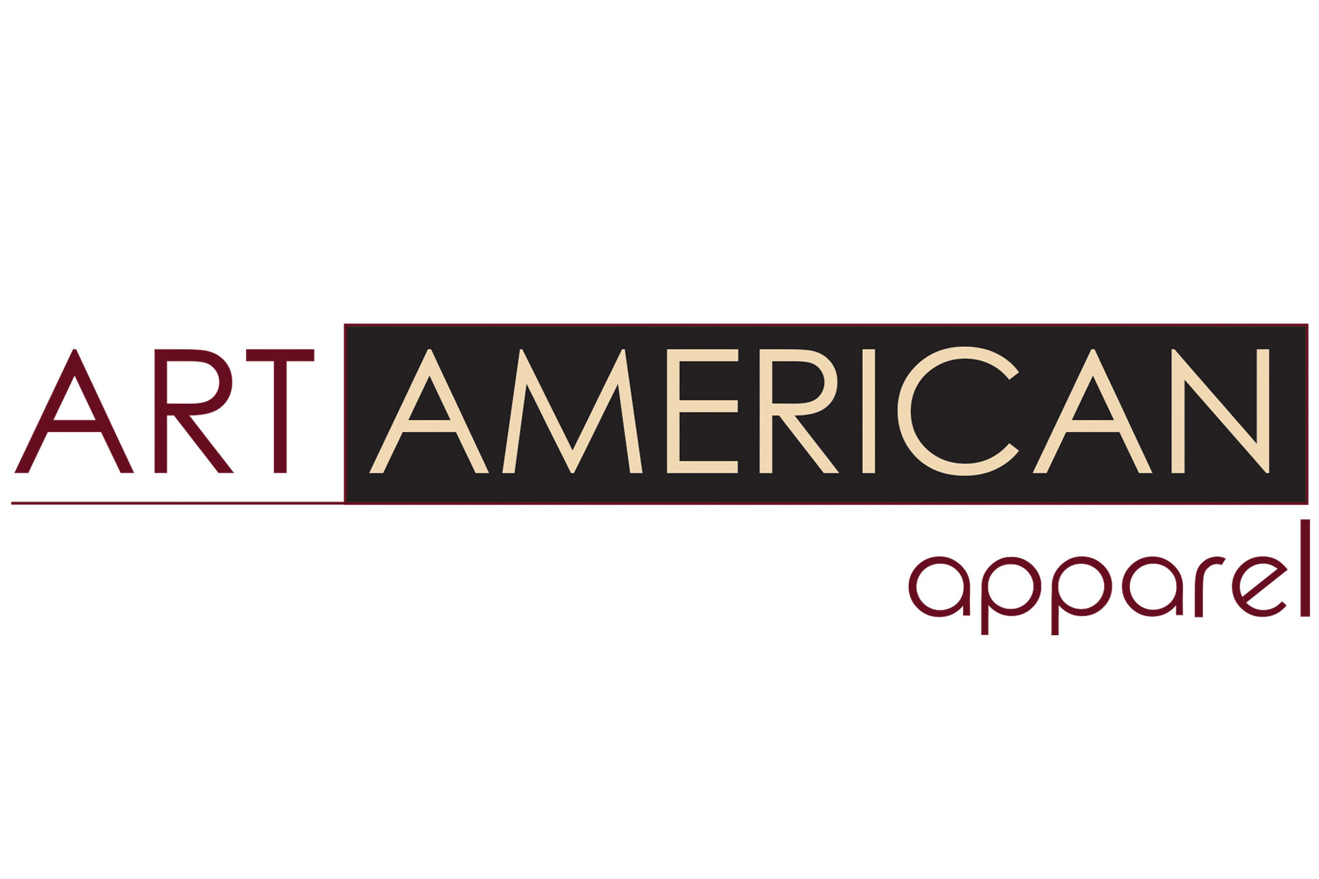 art american apparel logo