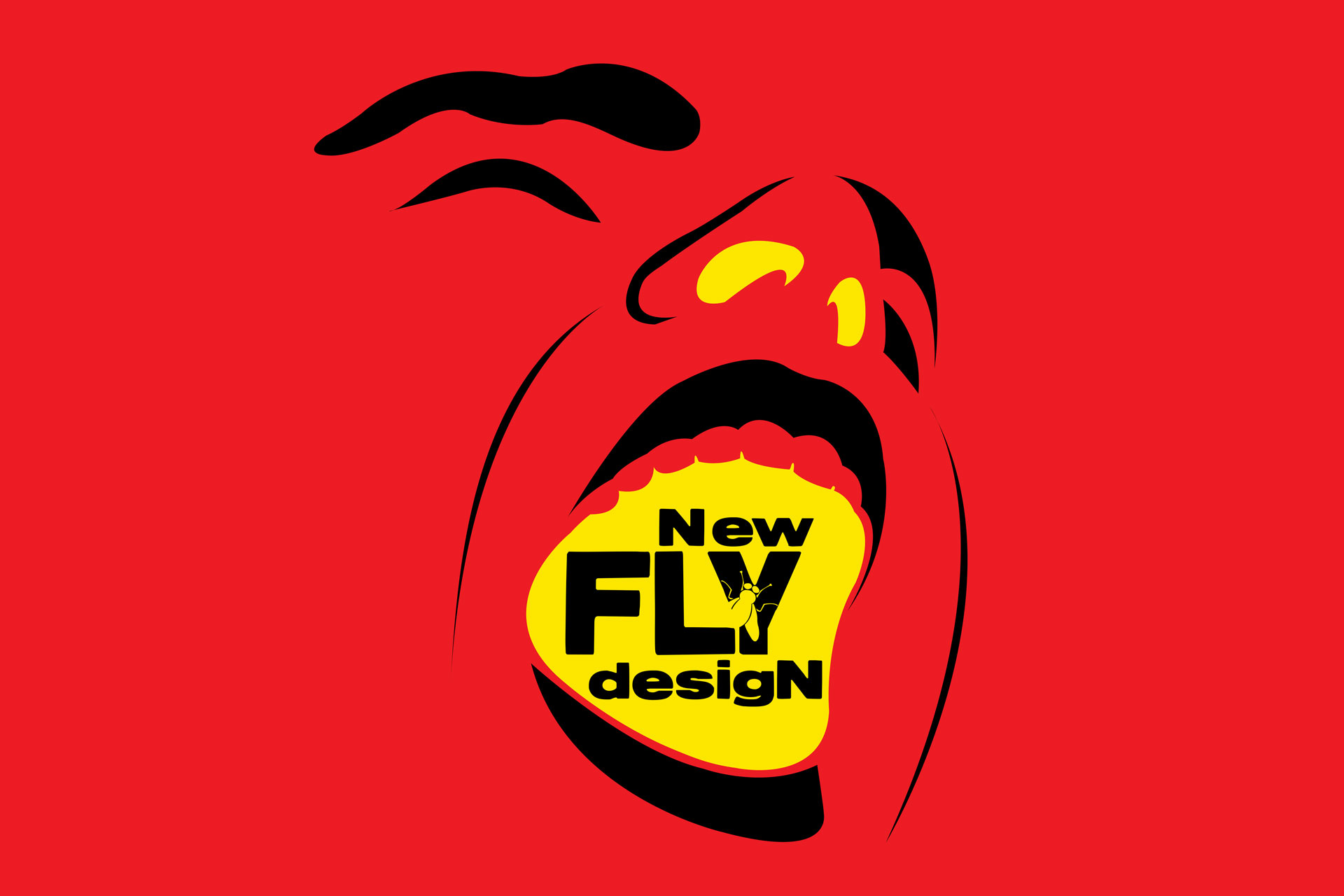 new fly design logo